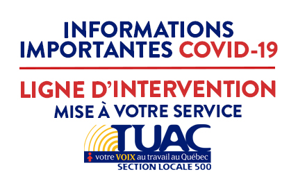Informations importantes COVID-19